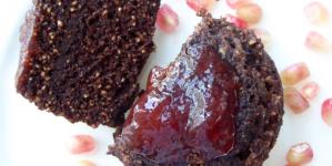 Hungry Empress' Chocolate Oatmeal Mug Cake