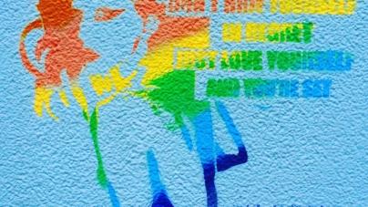 Queer Street Art In Hong Kong
