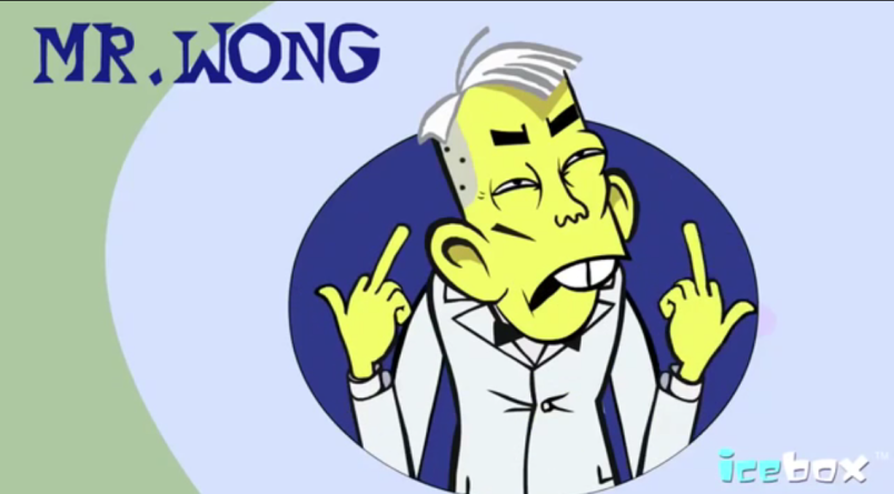 Mr. Wong: The Controversial Cartoon