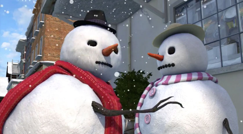 Snowman: Not Your Typical Christmas Animation