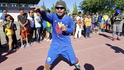Manny Pacquiao Training Photos