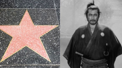 A Hollywood Star for Toshiro Mifune