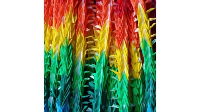 Rainbow Cranes for Peace