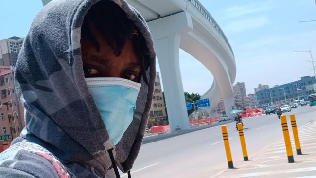 An Aspiring Kenyan Actor in China